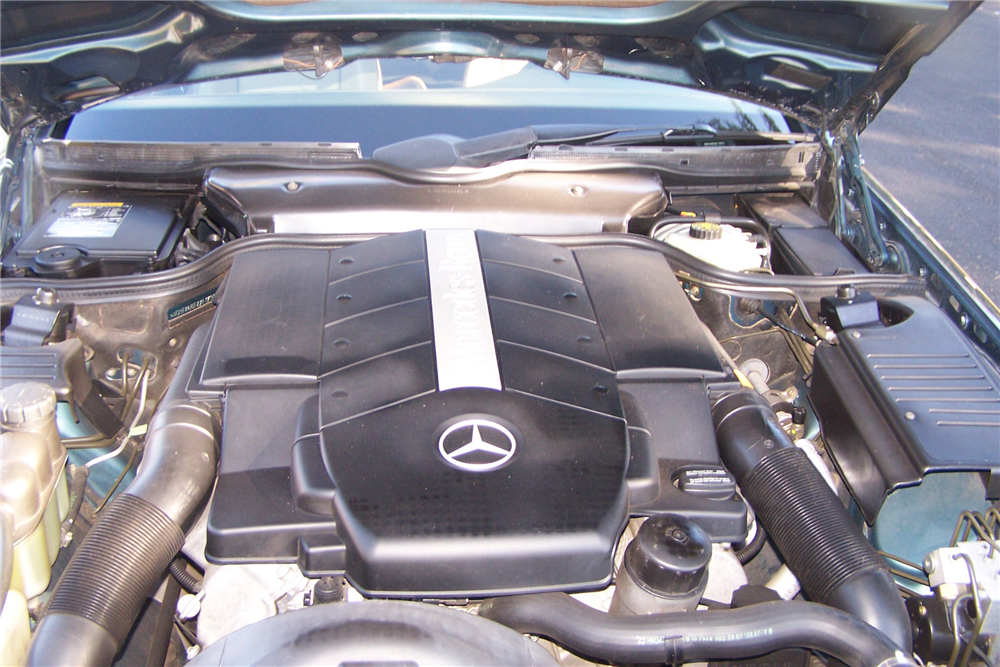 1999 MERCEDES-BENZ SL500 ROADSTER - Engine - 190516