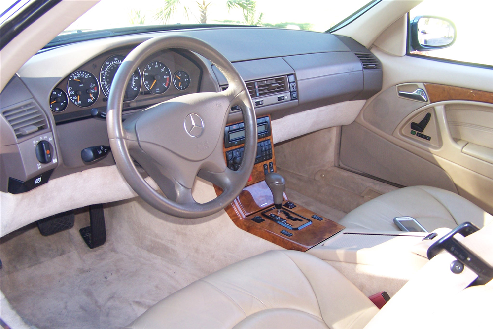 1999 MERCEDES-BENZ SL500 ROADSTER - Interior - 190516