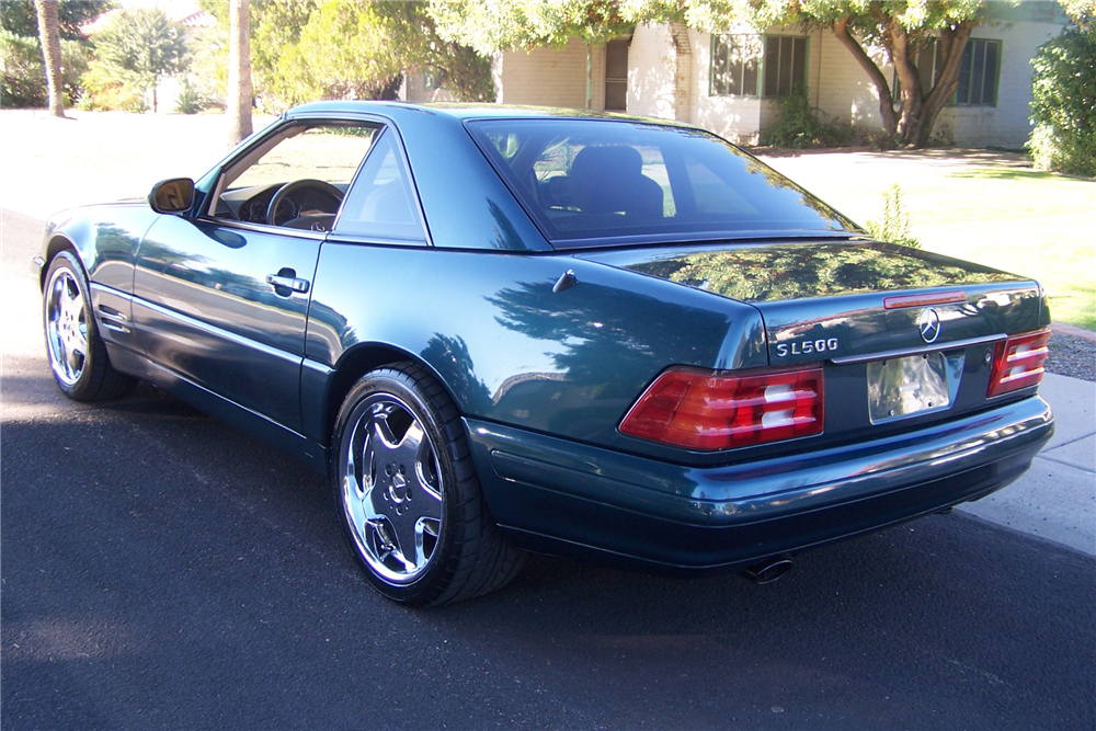 1999 MERCEDES-BENZ SL500 ROADSTER - Rear 3/4 - 190516