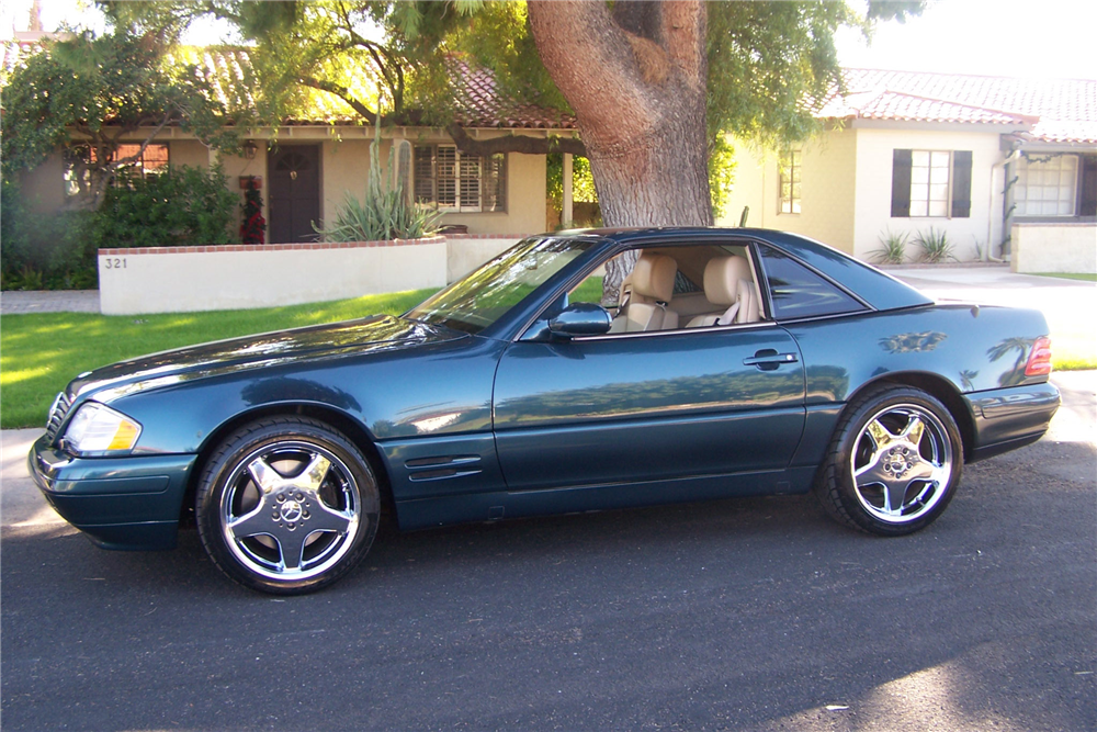 1999 MERCEDES-BENZ SL500 ROADSTER - Side Profile - 190516