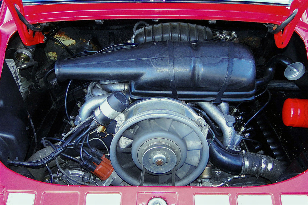 1974 PORSCHE 911 SLANT NOSE - Engine - 190522