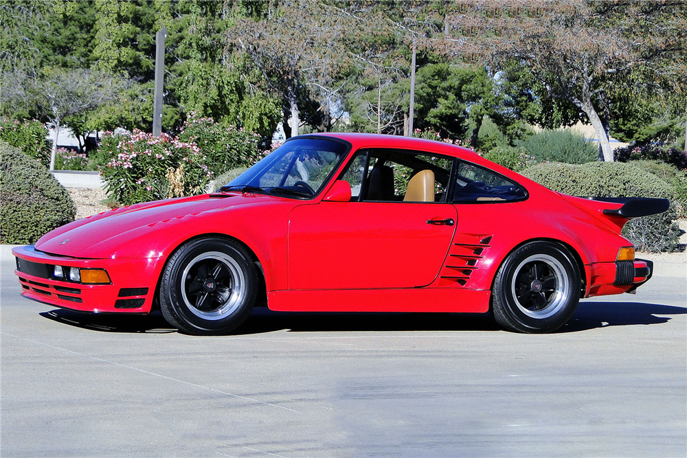 1974 PORSCHE 911 SLANT NOSE - Side Profile - 190522
