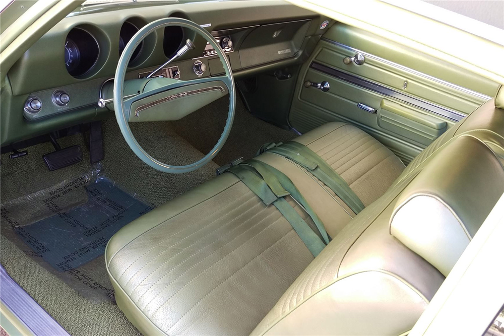1969 OLDSMOBILE CUTLASS F-85 - Interior - 190533