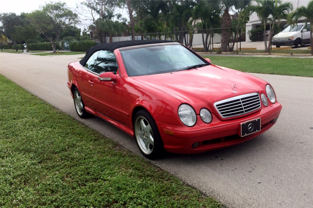 2001 MERCEDES-BENZ CLK430 CONVERTIBLE