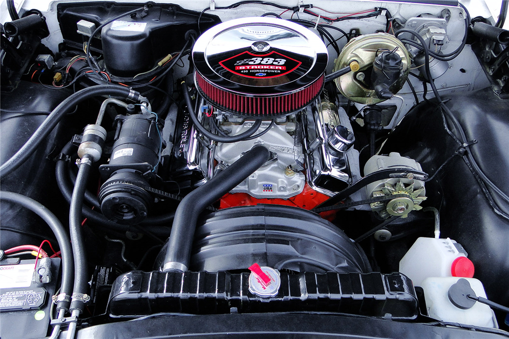 1963 CHEVROLET IMPALA SS  - Engine - 190538