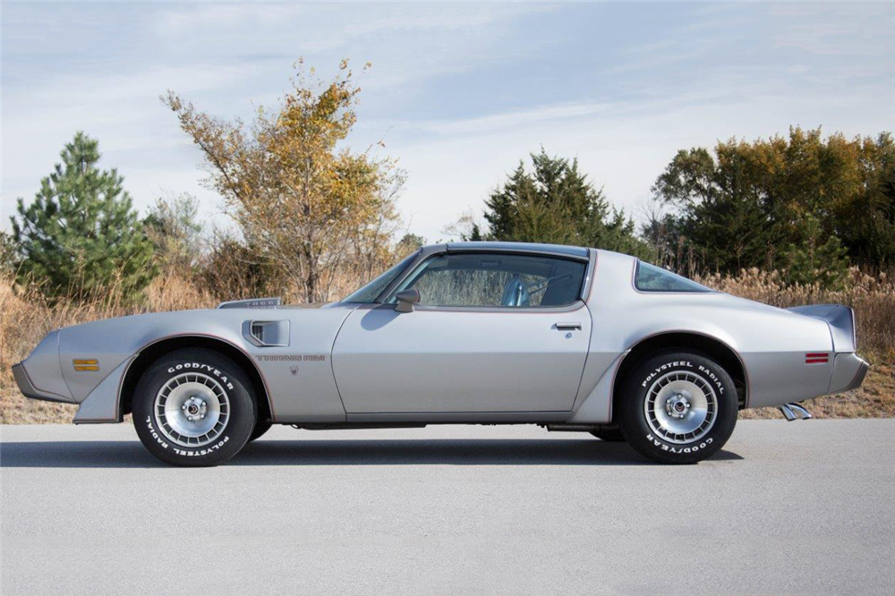 1979 PONTIAC FIREBIRD TRANS AM  - Side Profile - 190563