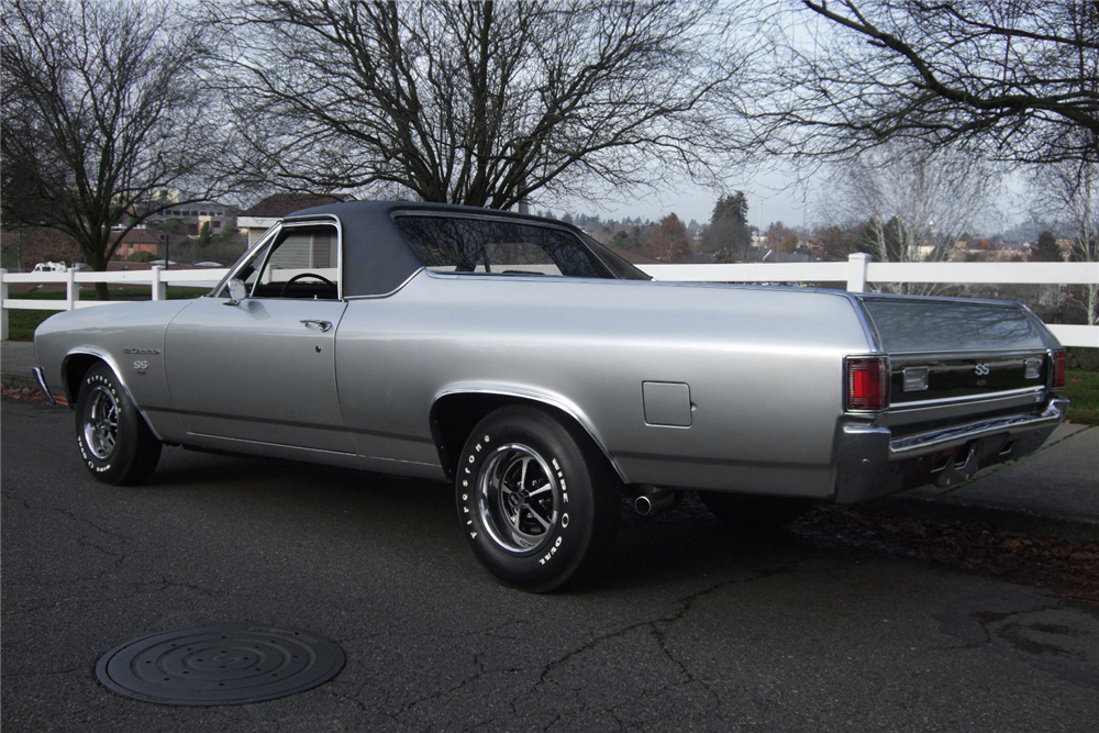 1970 CHEVROLET EL CAMINO LS6 PICKUP - Rear 3/4 - 190571