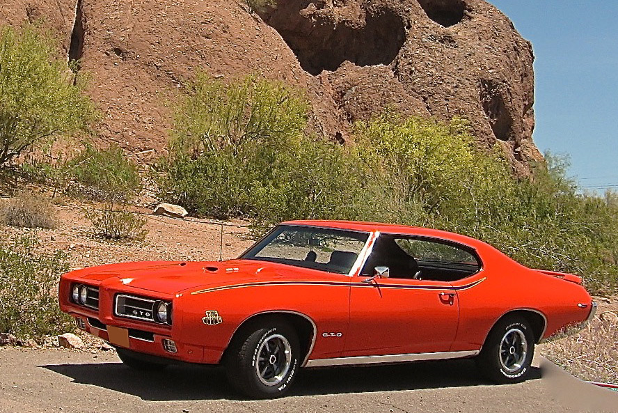 1969 PONTIAC GTO JUDGE RE-CREATION - Front 3/4 - 190582