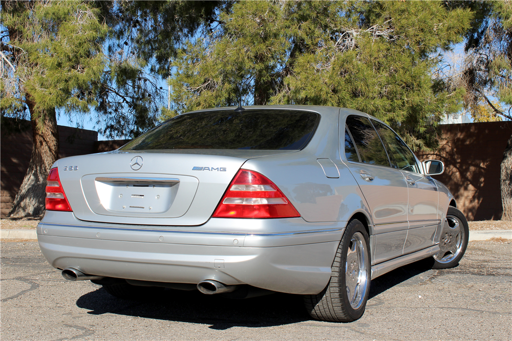 2002 mercedes benz s55 amg 190588 for Mercedes benz s55