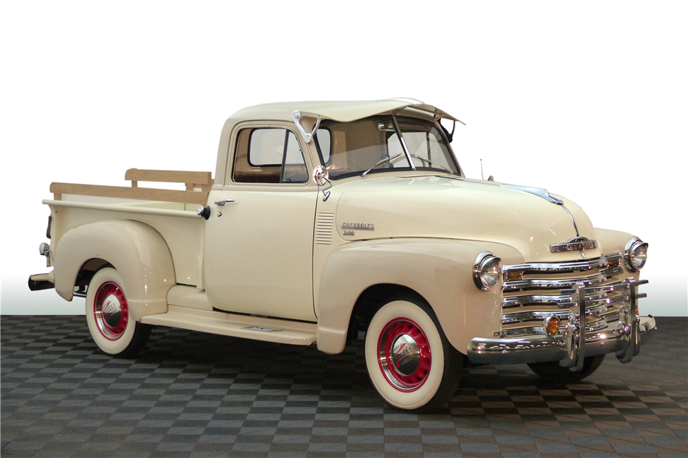 1951 CHEVROLET THRIFTMASTER PICKUP - Front 3/4 - 190596