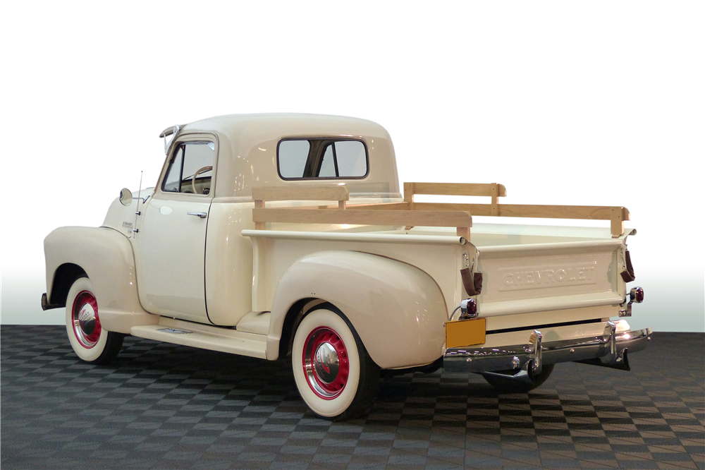 1951 CHEVROLET THRIFTMASTER PICKUP - Rear 3/4 - 190596