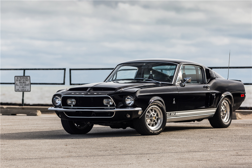1968 SHELBY GT350 FASTBACK - Front 3/4 - 190599