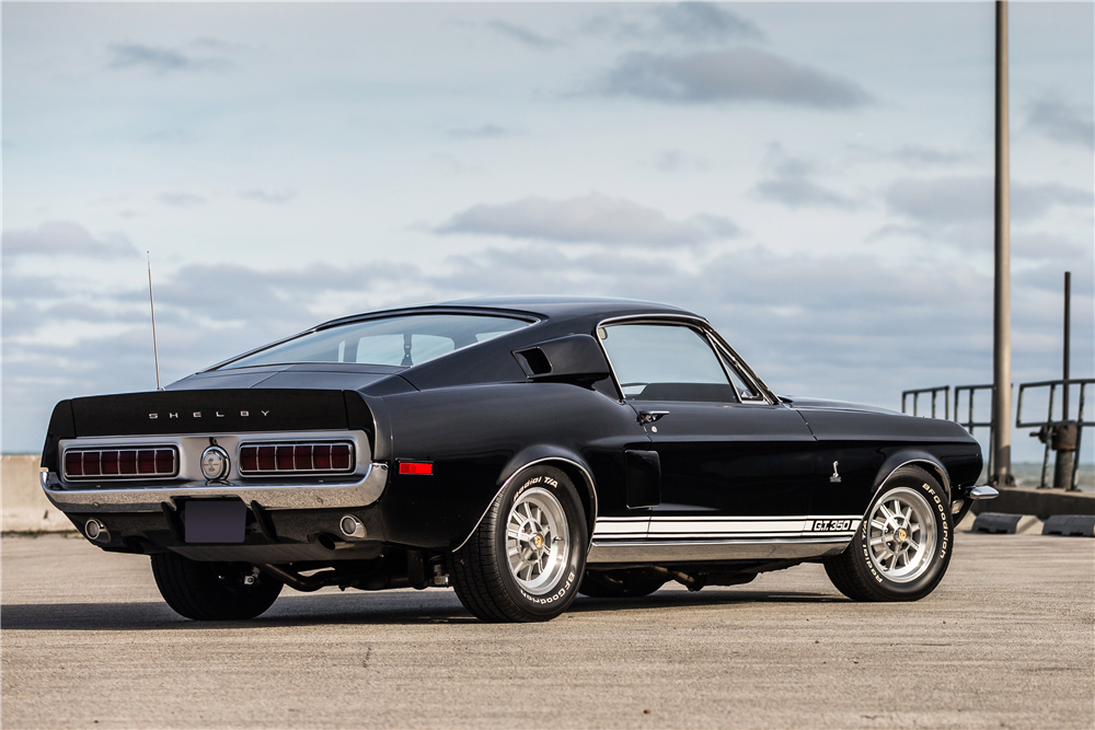 1968 SHELBY GT350 FASTBACK - Rear 3/4 - 190599