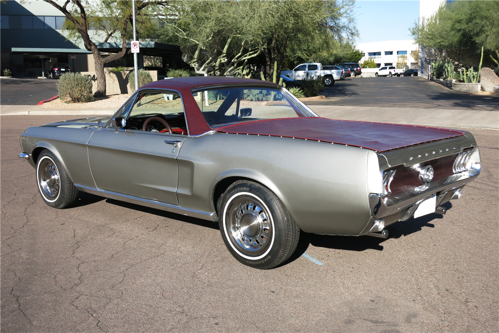 1968 FORD MUSTANG CUSTOM PICKUP - Rear 3/4 - 190614