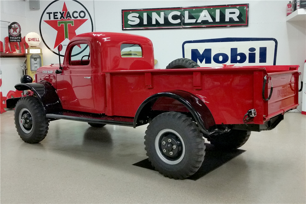 1946 DODGE POWER WAGON  - Rear 3/4 - 190640