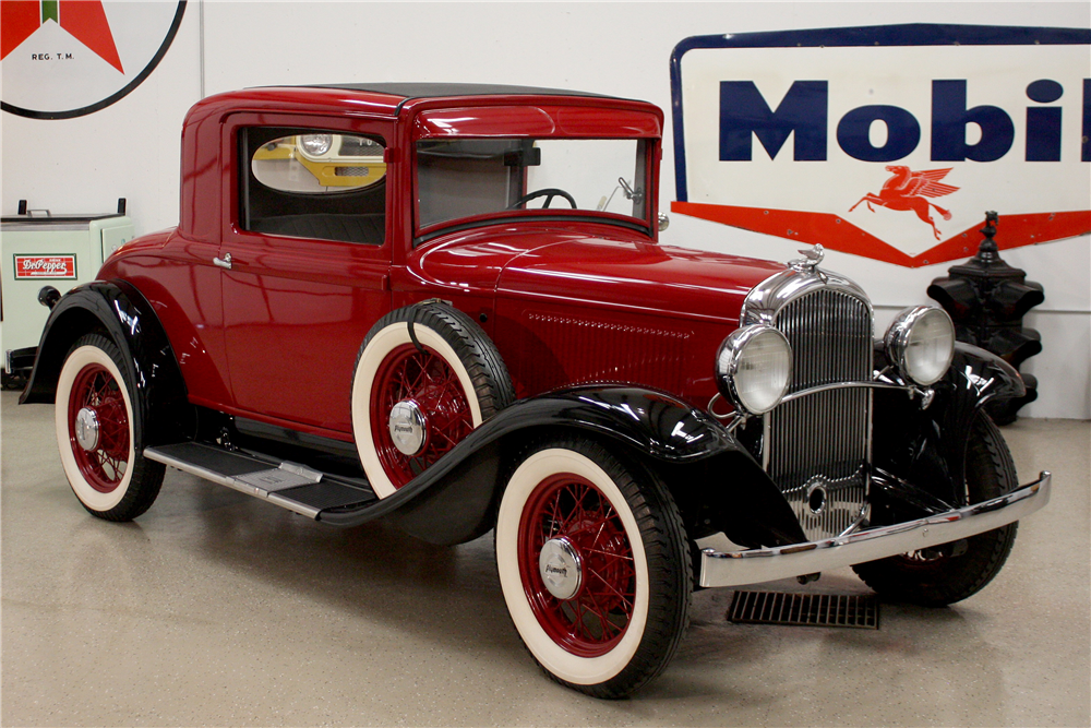 1932 PLYMOUTH PA COUPE - Front 3/4 - 190641