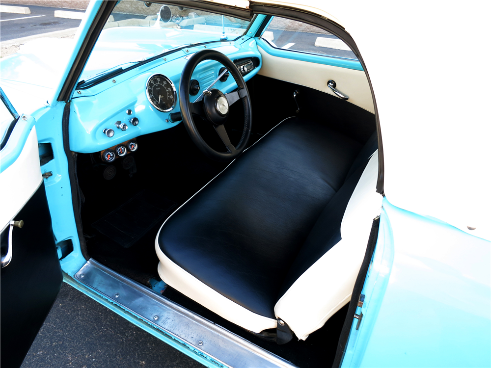 1955 NASH METROPOLITAN CONVERTIBLE - Interior - 190964