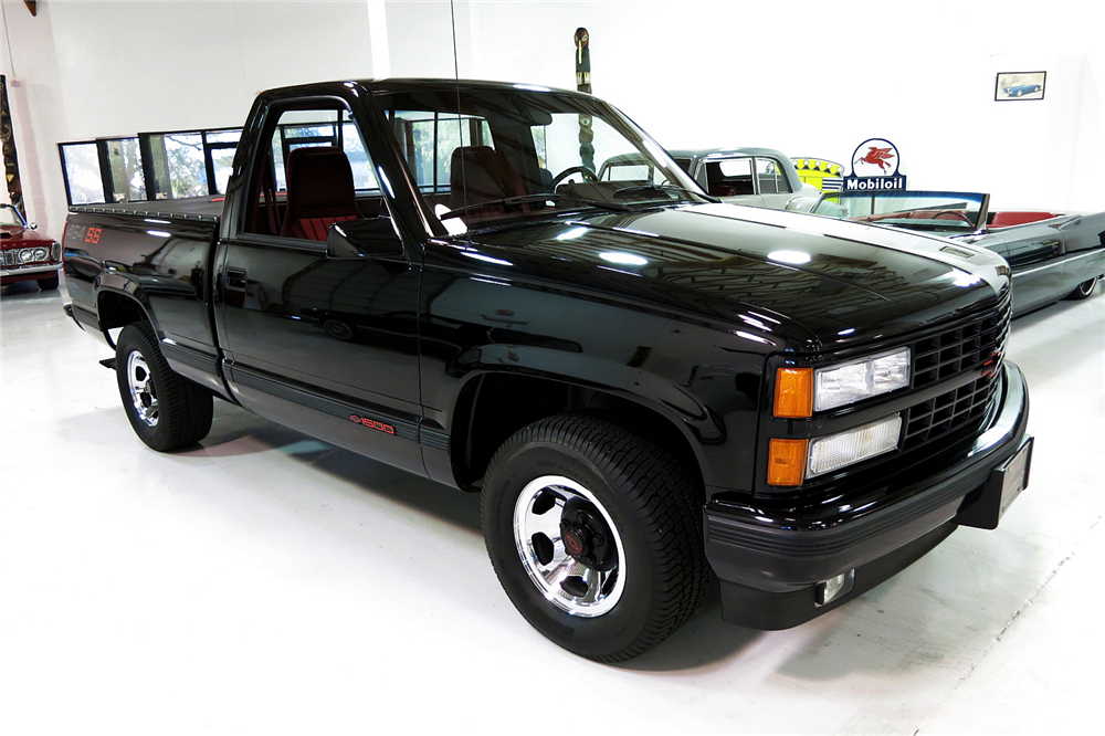 1990 CHEVROLET 454SS PICKUP - Front 3/4 - 190979
