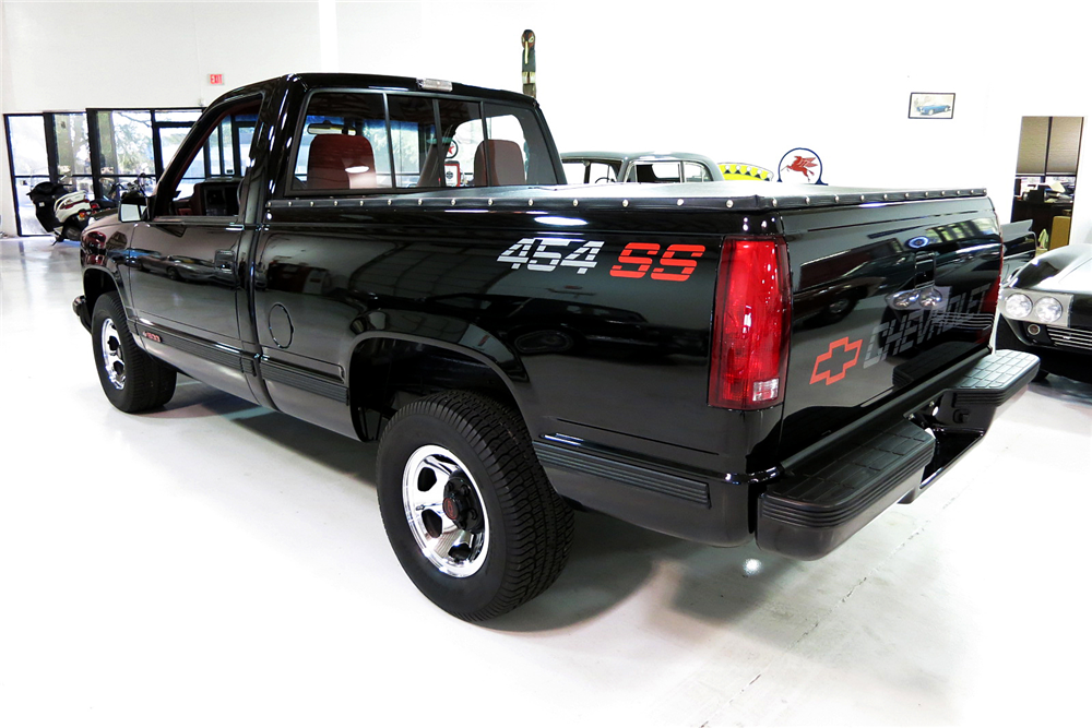 1990 CHEVROLET 454SS PICKUP - Rear 3/4 - 190979