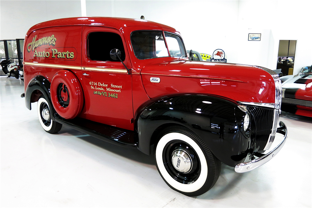 Old Ford Panels : Ford panel truck