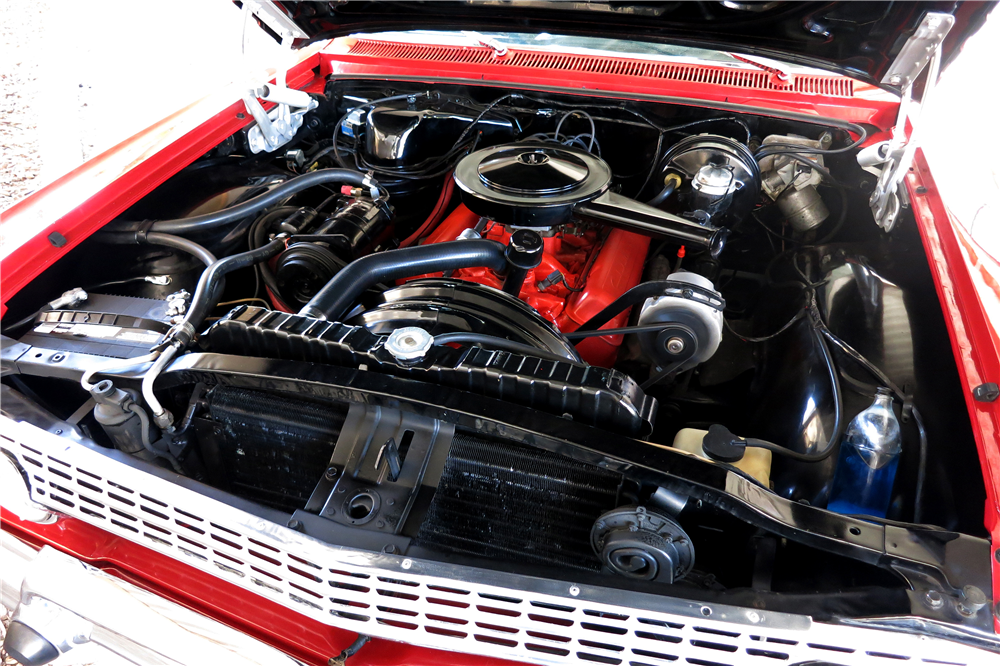 1963 CHEVROLET IMPALA - Engine - 190990