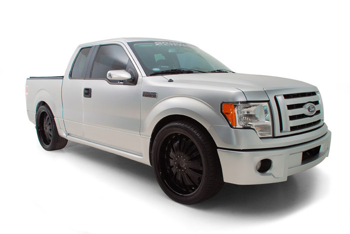 2009 FORD F-150 CUSTOM EXTENDED CAB - Front 3/4 - 191033