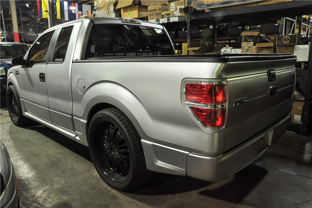 2009 FORD F-150 CUSTOM EXTENDED CAB - Rear 3/4 - 191033