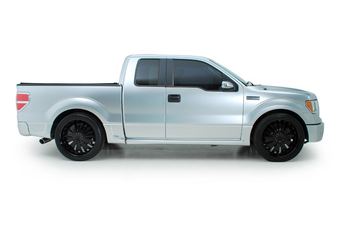 2009 FORD F-150 CUSTOM EXTENDED CAB - Side Profile - 191033
