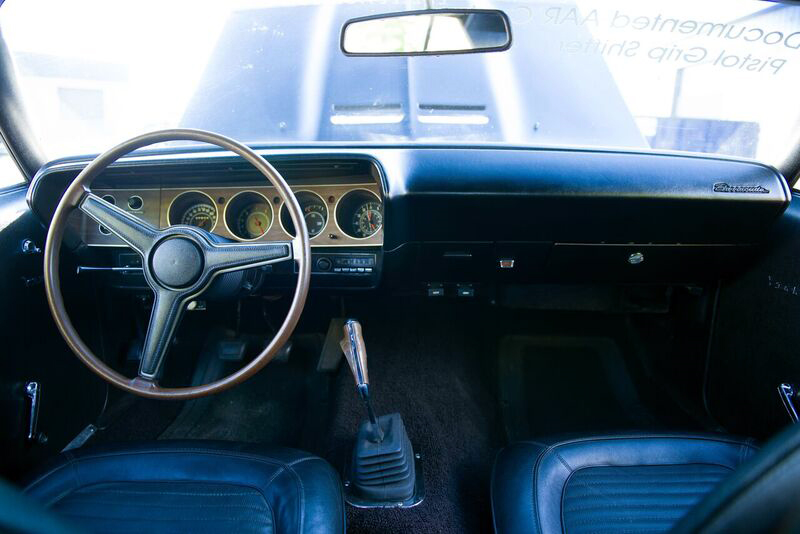 1970 PLYMOUTH 'CUDA AAR  - Interior - 191045