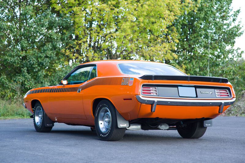1970 PLYMOUTH 'CUDA AAR  - Rear 3/4 - 191045