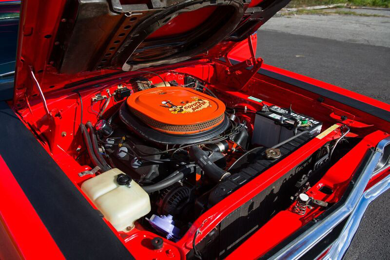 1969 PLYMOUTH HEMI ROAD RUNNER  - Engine - 191046