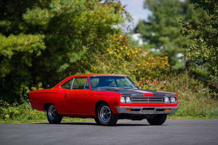 1969 PLYMOUTH HEMI ROAD RUNNER  - Front 3/4 - 191046