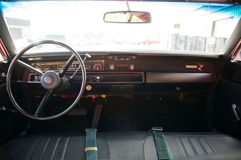 1969 PLYMOUTH HEMI ROAD RUNNER  - Interior - 191046