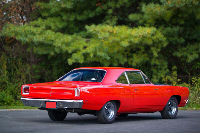 1969 PLYMOUTH HEMI ROAD RUNNER  - Rear 3/4 - 191046