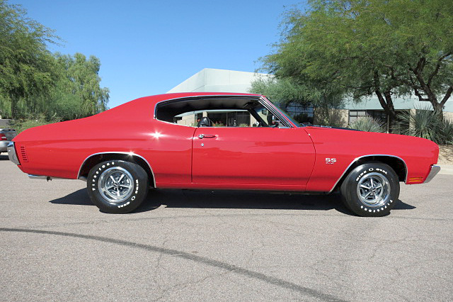 1970 CHEVROLET CHEVELLE SS 396 - Side Profile - 191048