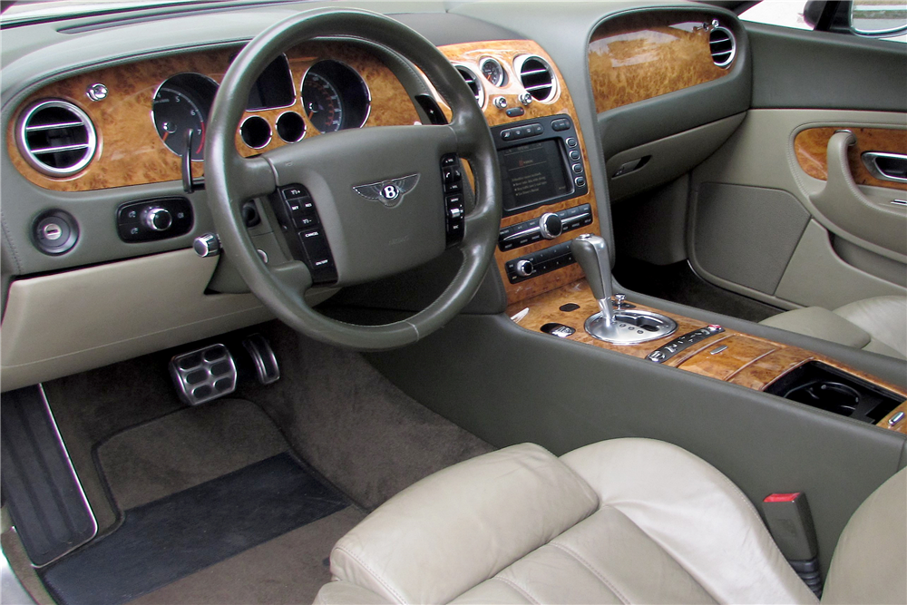 2004 BENTLEY CONTINENTAL GT - Interior - 191049