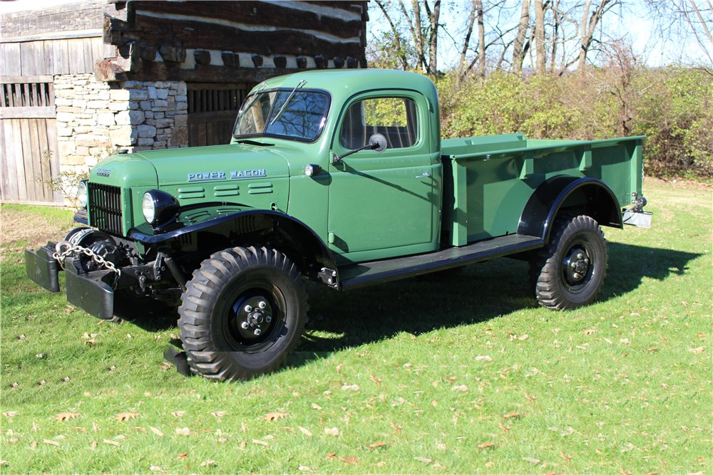 1946 Dodge Power Wagon >> 1946 DODGE POWER WAGON - 191057