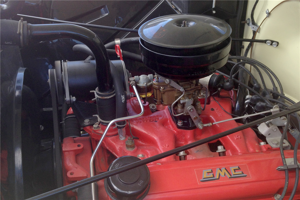 1955 GMC 100 4WD PICKUP - Engine - 191068
