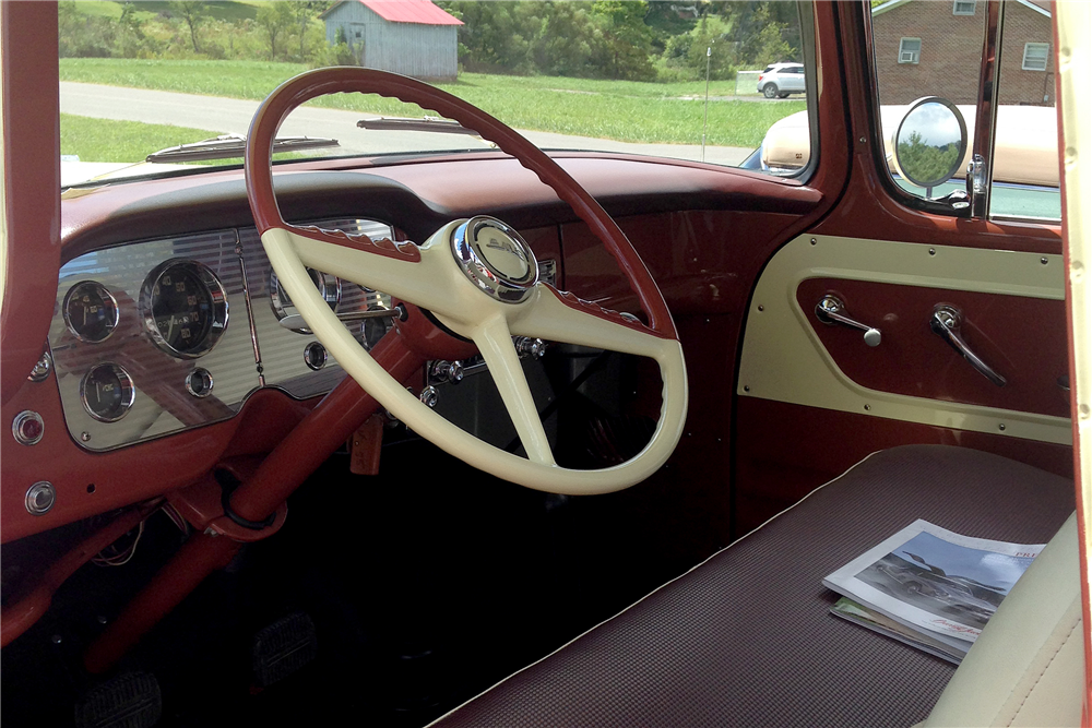 1955 GMC 100 4WD PICKUP - Interior - 191068