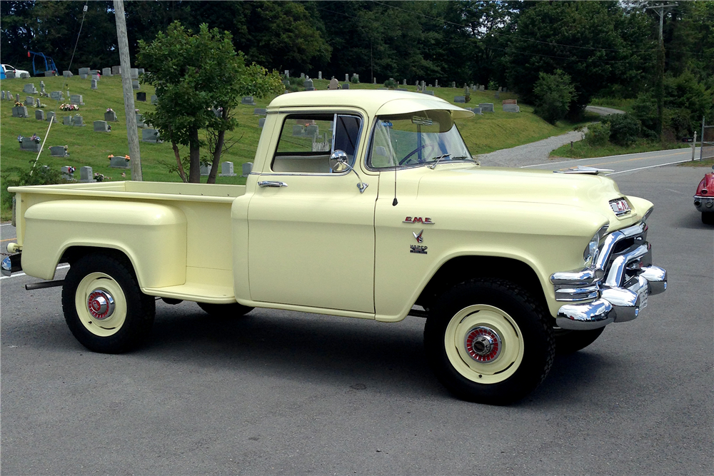 1955 GMC 100 4WD PICKUP - Rear 3/4 - 191068
