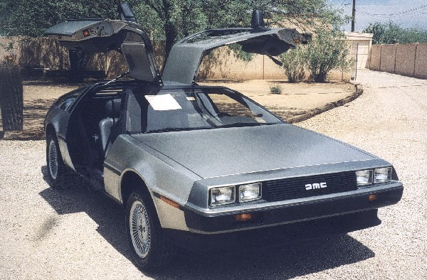 1981 DELOREAN GULLWING COUPE - Side Profile - 19108