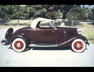 1934 FORD DELUXE ROADSTER -  - 19111