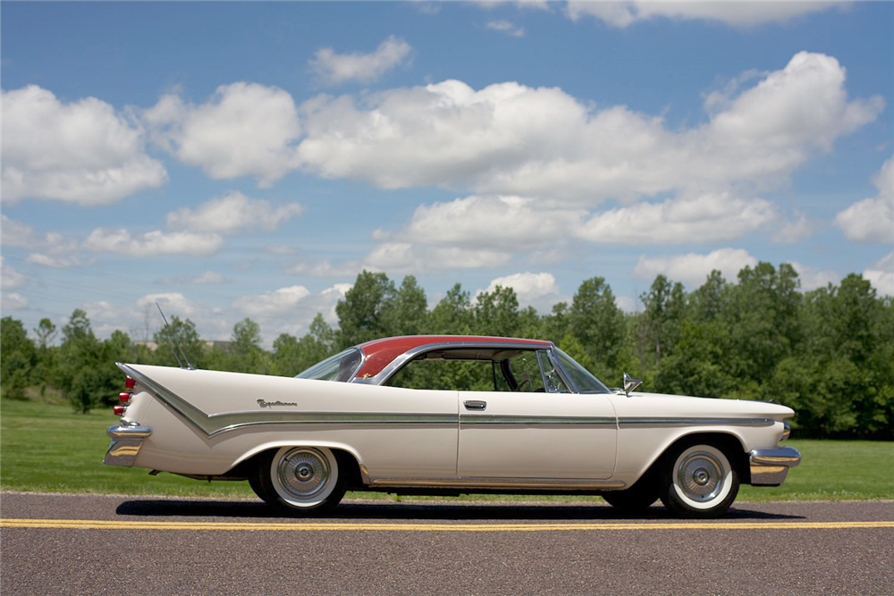 1959 DE SOTO FIRESWEEP  - Side Profile - 191139