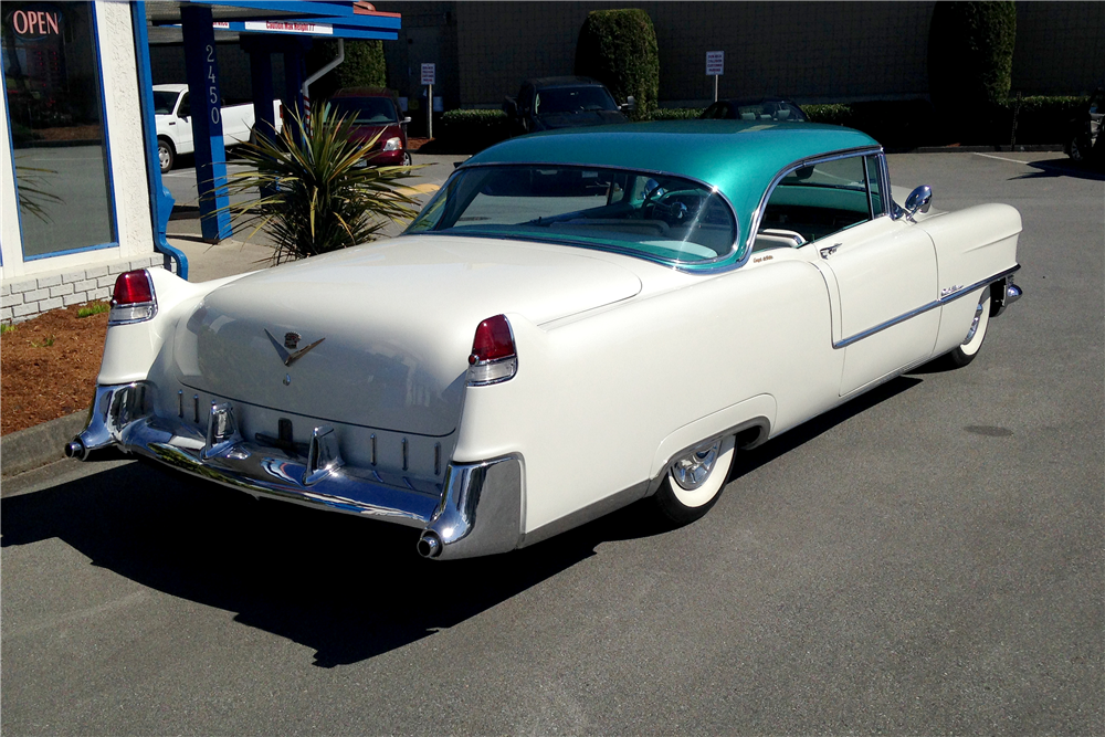 1955 CADILLAC COUPE DE VILLE - Rear 3/4 - 191151