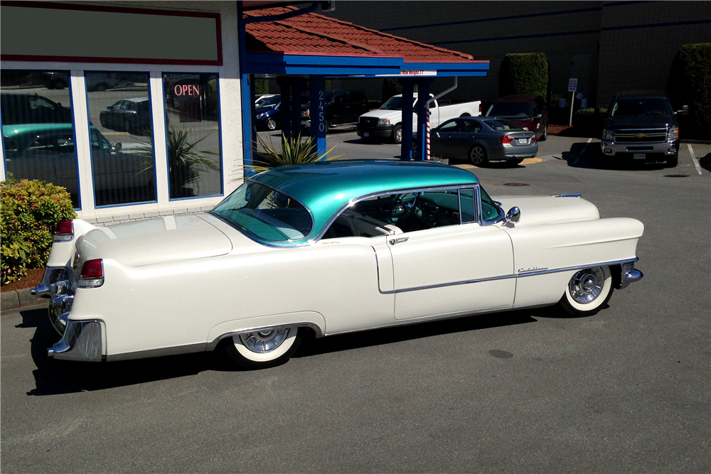 1955 CADILLAC COUPE DE VILLE - Side Profile - 191151