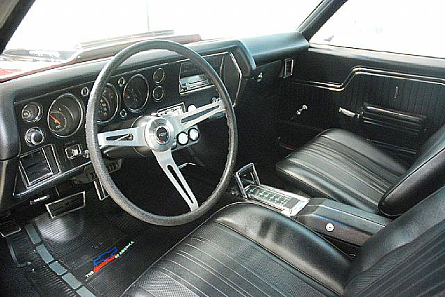1970 CHEVROLET MALIBU CUSTOM COUPE - Interior - 191153