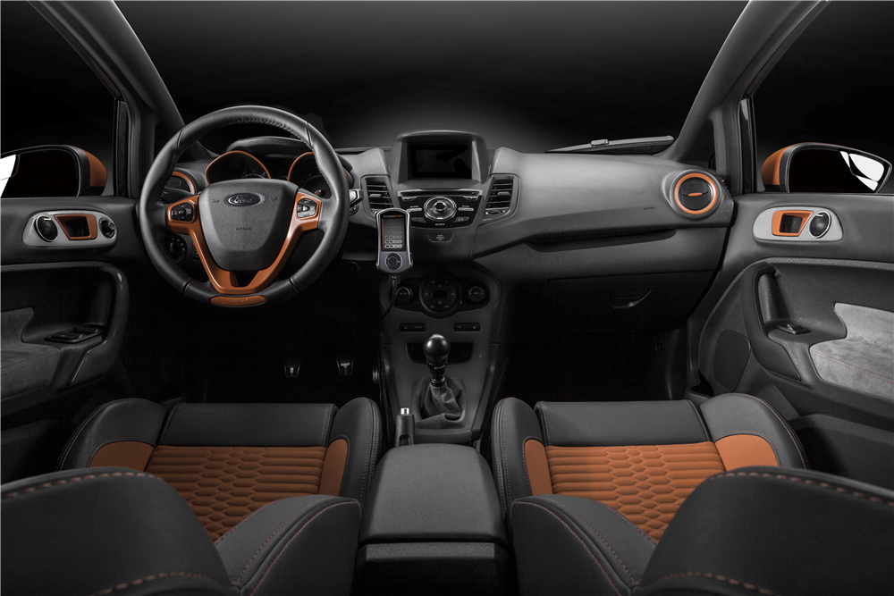 2014 ford fiesta st custom hatchback 191162. Black Bedroom Furniture Sets. Home Design Ideas