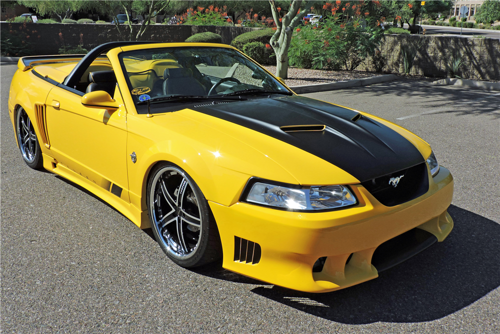 1999 FORD MUSTANG GT CUSTOM CONVERTIBLE - Front 3/4 - 191178