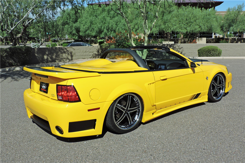 1999 FORD MUSTANG GT CUSTOM CONVERTIBLE - Rear 3/4 - 191178