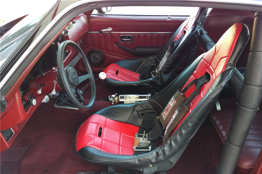 1979 CHEVROLET CAMARO Z/28 CUSTOM COUPE - Interior - 191197